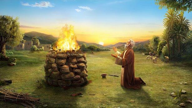 مظاهر مُحدّدة من اتّقاء أيُّوب الله وحيدانه عن الشرّ في حياته اليوميّة