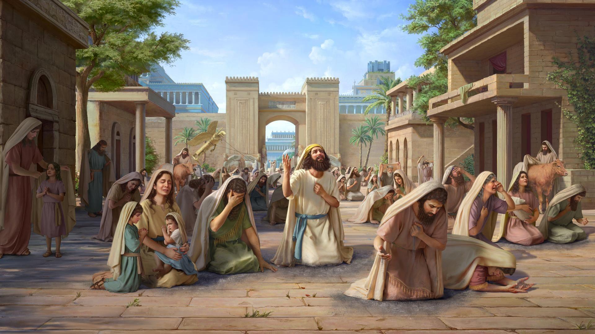 قصص من الكتاب المقدس   الله يرى التوبة الصادقة في صميم قلوب أهل نينوى