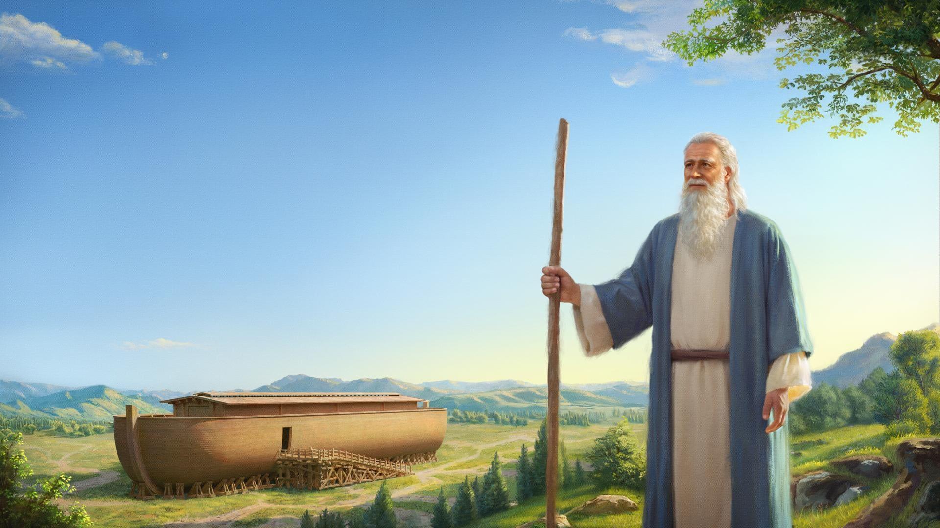 قصة نوح في الكتاب المقدس | الله ينوي أن يدمر العالم بطوفان، ويطلب من نوح بناء فلك