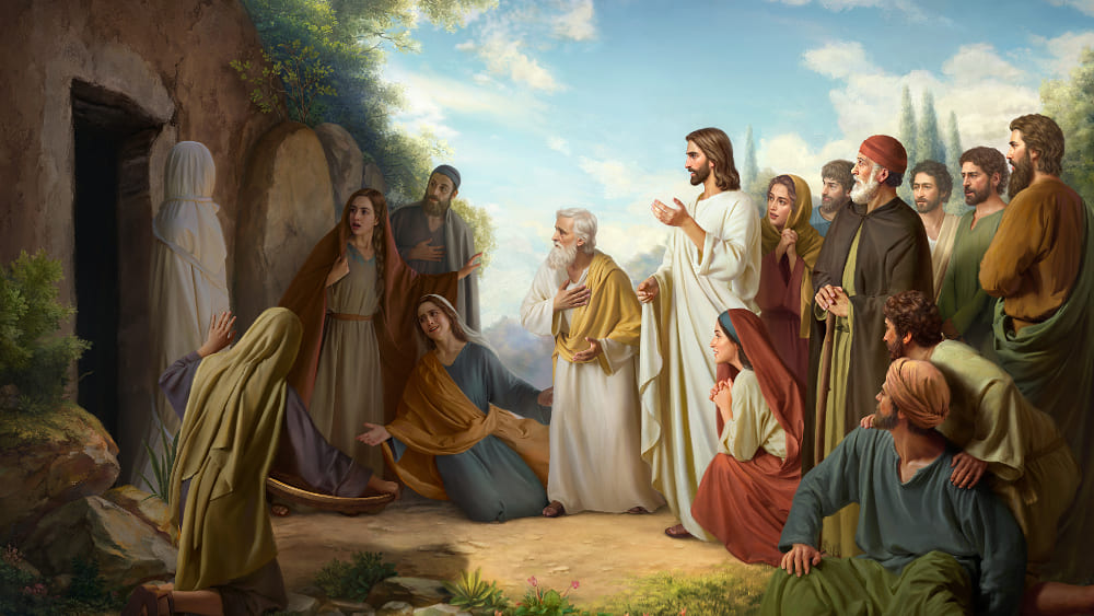 الرب يسوع يصنع المعجزات