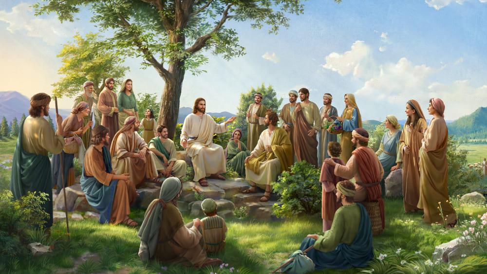 فَإِنَّ ابْنَ الإِنْسَانِ هُوَ رَبُّ السَّبْتِ أَيْضًا (ب)
