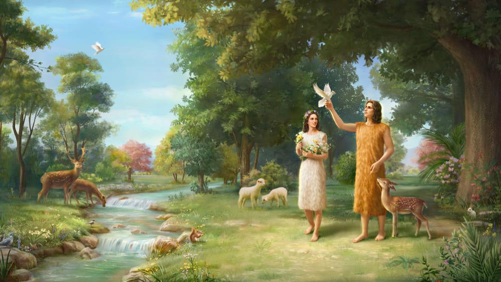 قصص من الكتاب المقدس | يصنع الله لِآدَمَ وحوّاء أَقْمِصَةً مِنْ جِلْدٍ