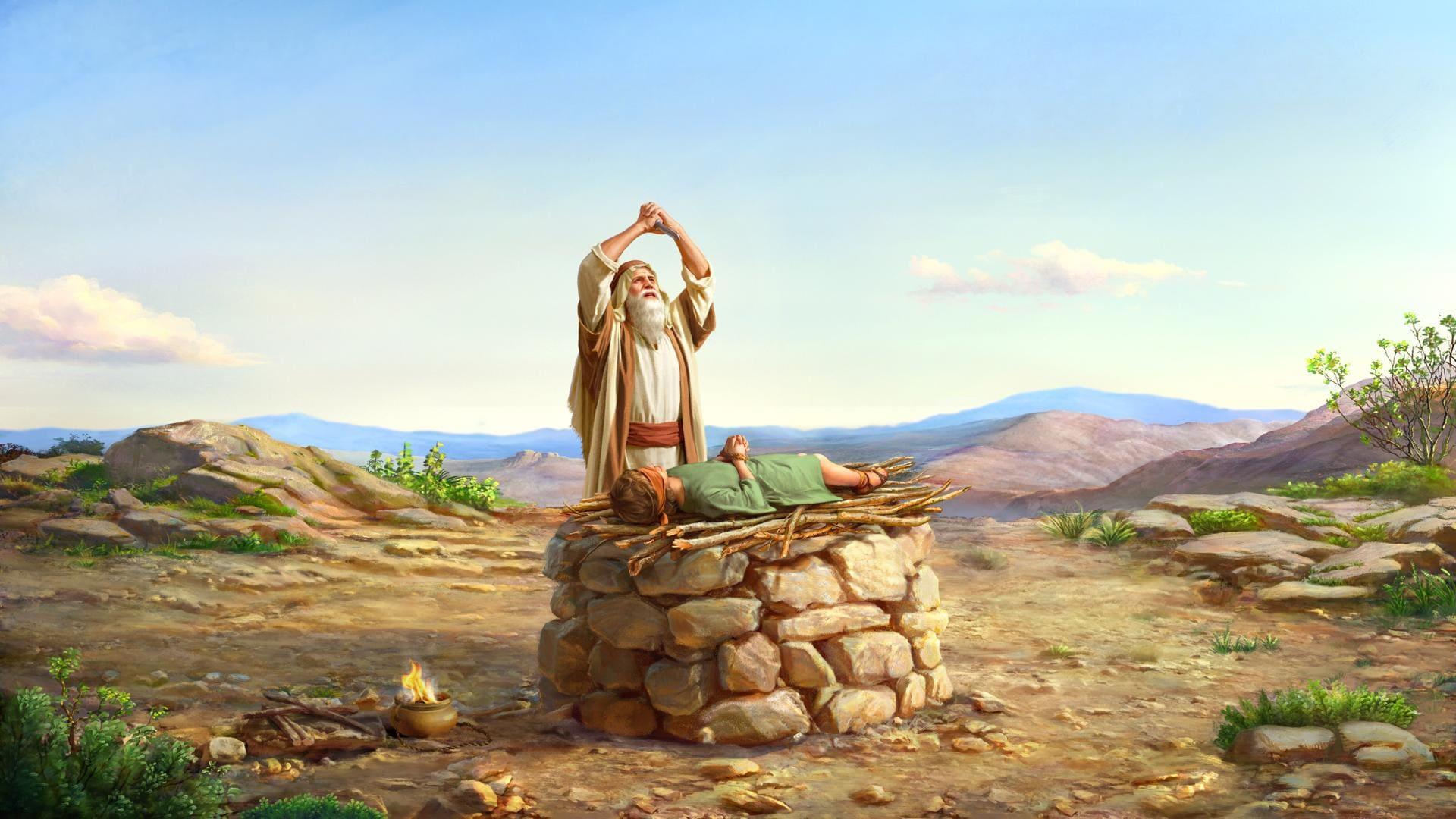 معجزة سيدنا ابراهيم | الله يأمر إبراهيم بتقديم إسحاق