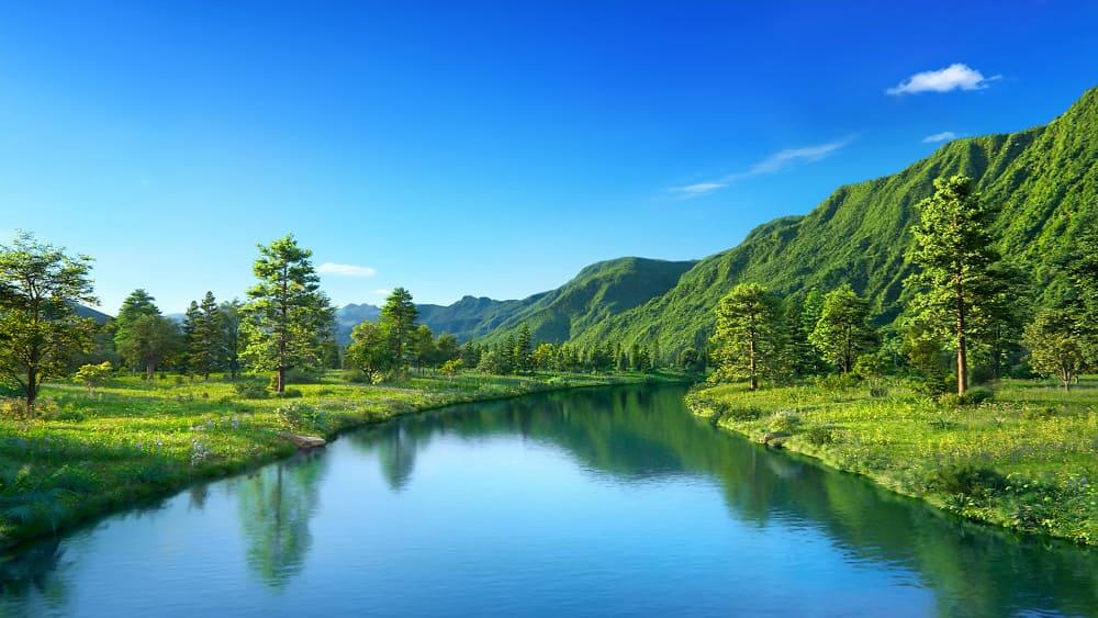 القصة: جبل عظيم، وجدول صغير، وريح عاتية، وموجة عملاقة