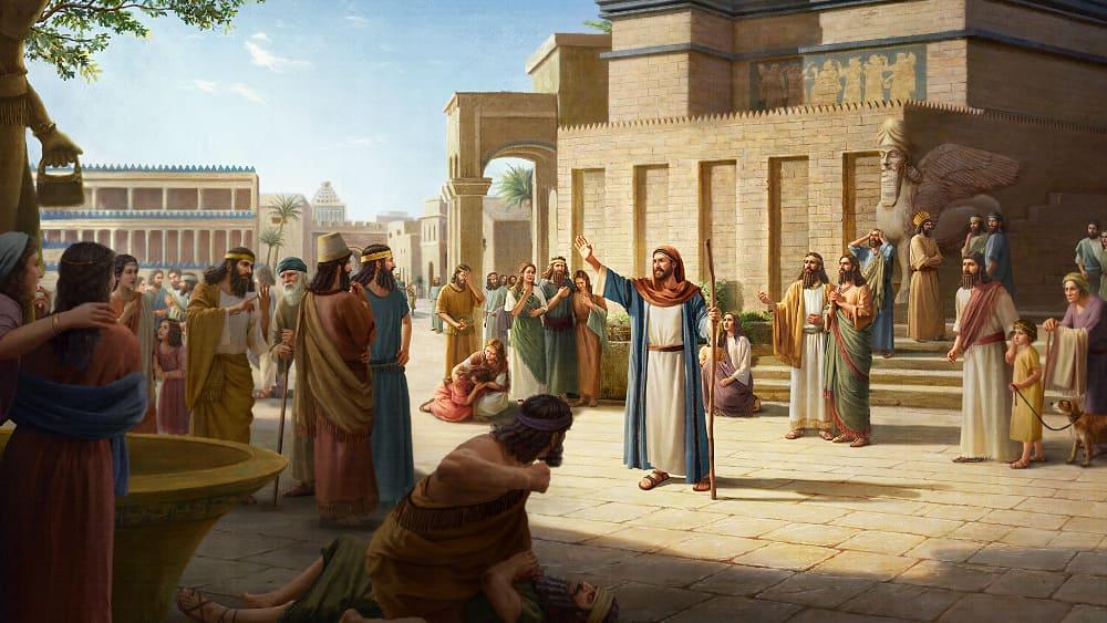 قصص من الكتاب المقدس | تحذير يهوه الله يصل إلى أهل نينوى