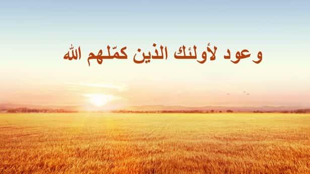 وعود لأولئك الذين كمّلهم الله
